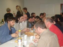 repas entre musiciens Breton Polonais 5